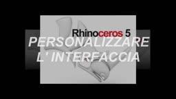 Rhinoceros personalizzare l' interfaccia