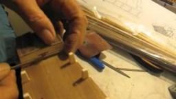 Video guida per costruire un modello di veliero; specchio e castello di poppa
