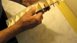 Video guida per costruire un modello di veliero; montaggio chiglia e ordinate