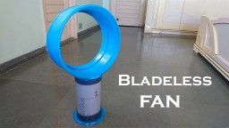 How to Make a Bladeless Fan using Plastic bucket at Home