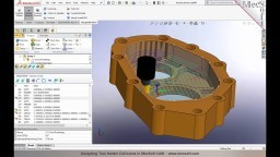 Analyzing Tool Holder Collisions in MecSoft CAM