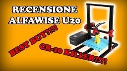 RECENSIONE ALFAWISE U20 ITA - STAMPANTE 3D