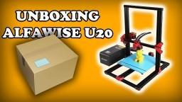 ALFAWISE U20 UNBOXING ITA - STAMPANTE 3D
